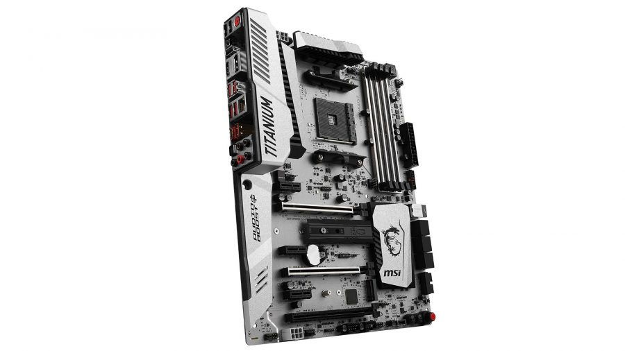 Best high-end AMD gaming motherboard runner-up MSI X370 XPower Gaming Titanium