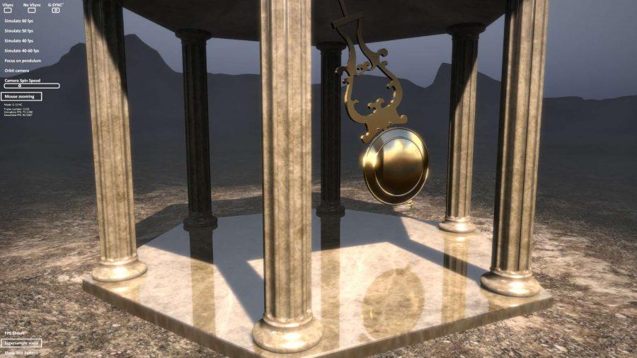 Nvidia Pendulum GSync Demo
