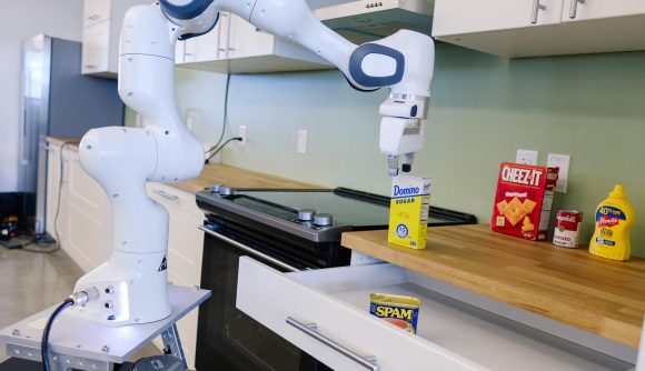 Nvidia mobile manipulator robot