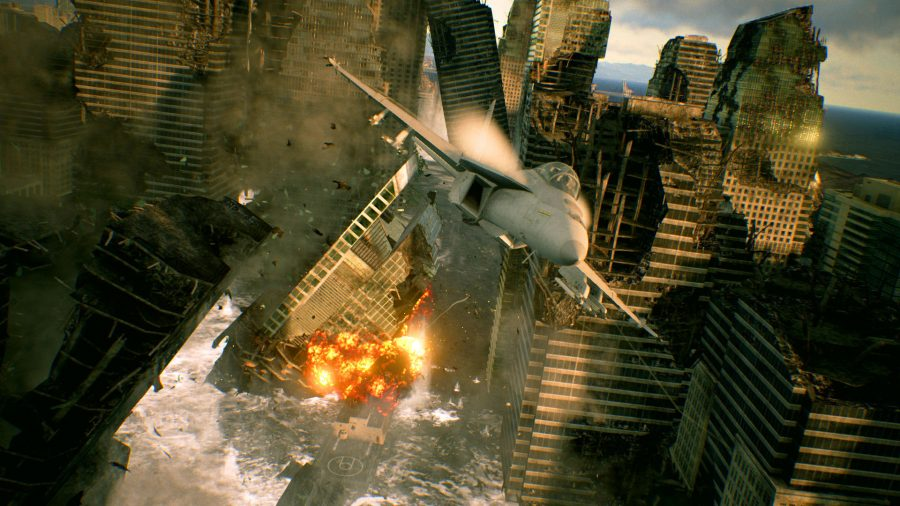 Want A Game Like Ace Combat 6 Fires Of Liberation On Pc