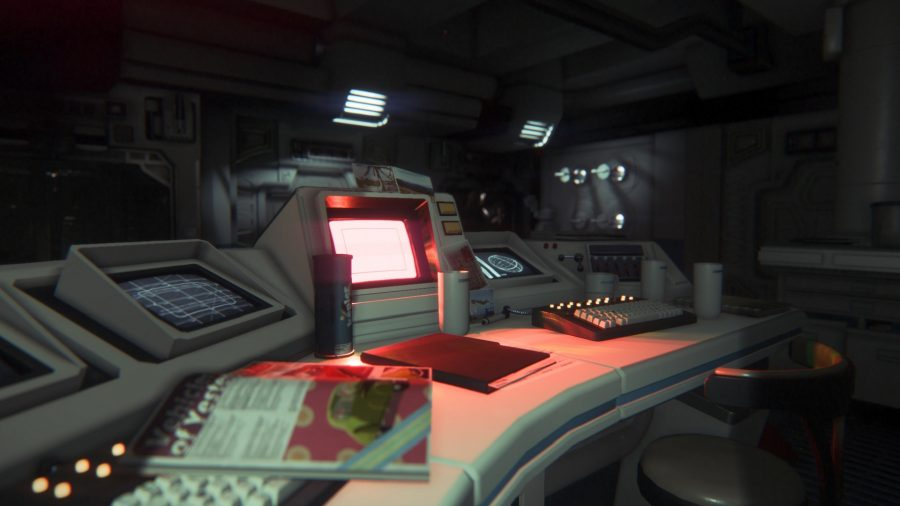 Alien: Isolation terminal