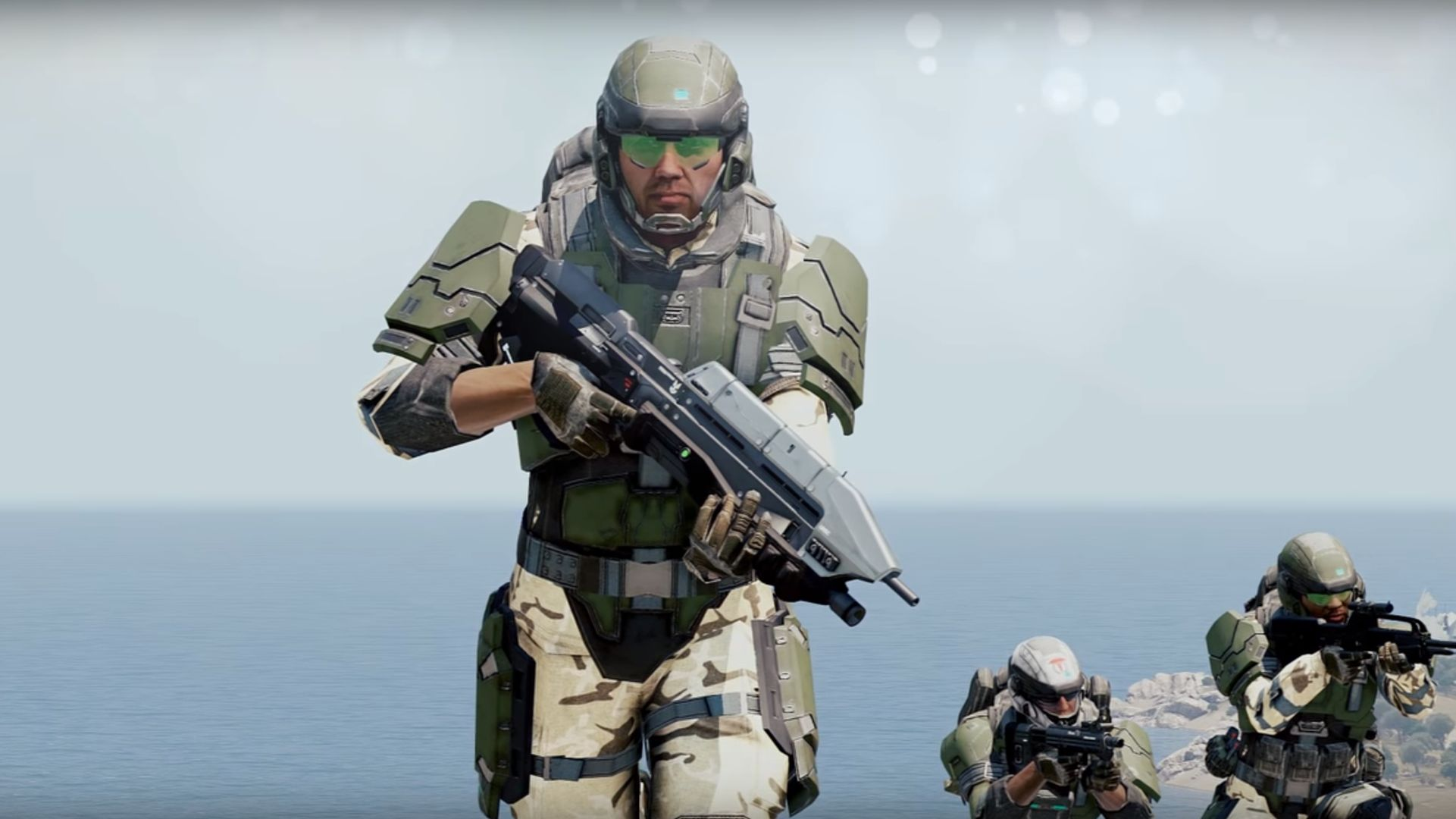 Can't wait for the Halo: MCC PC beta? Try this Arma 3 mod instead