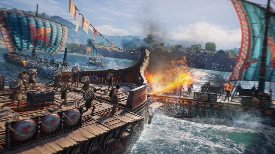 Assassin's Creed Odyssey Shadow Heritage ship