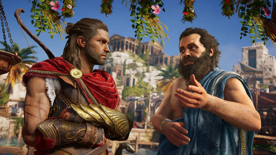 Assassin's Creed Odyssey Sokrates