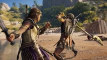 Assassin's Creed Odyssey Shadow Heritage combat