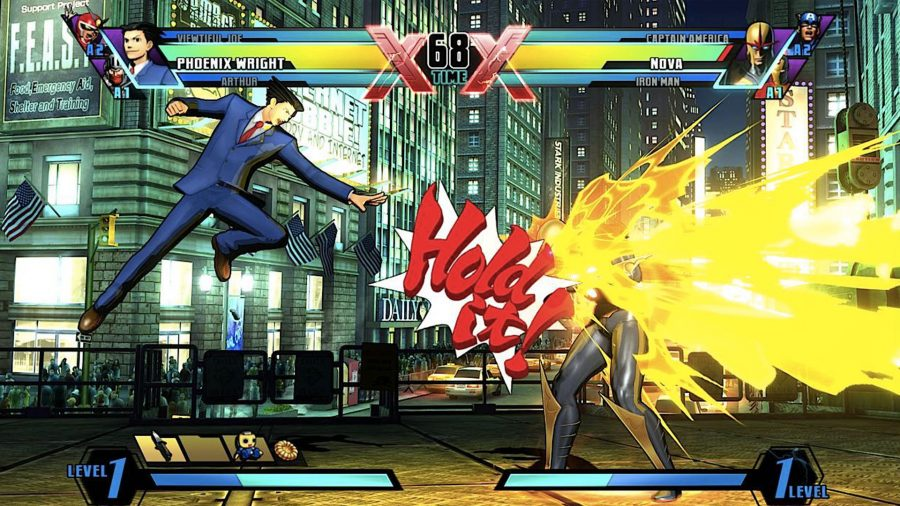 best fighting games ultimate marvel vs capcom 3
