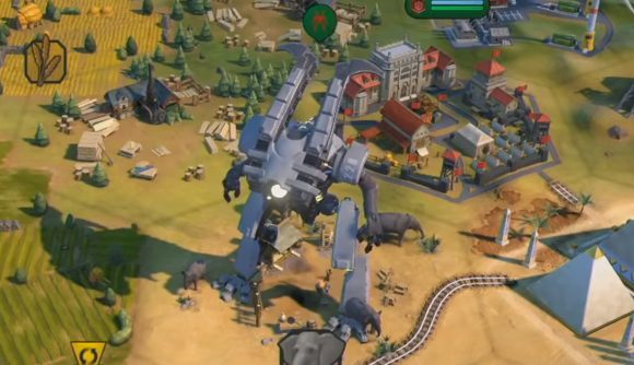 Giant Death Robots return in Civ 6: Gathering Storm and they