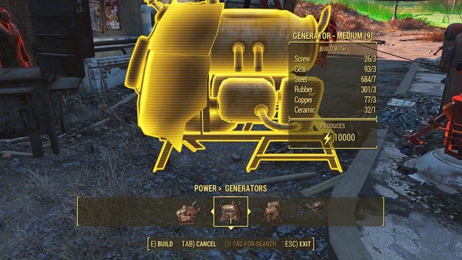 fallout 4 mods better generators