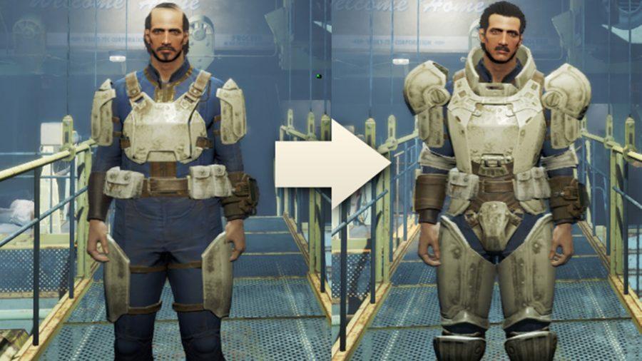 fallout 4 mods changable armour