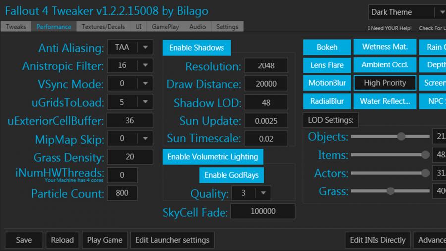 fallout 4 mods configuration tool