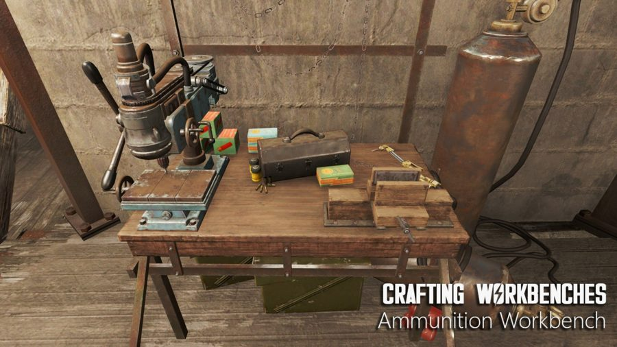 fallout 4 mods crafting workbenches