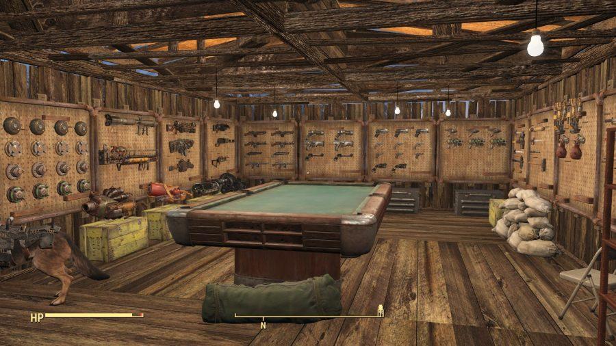 fallout 4 mods functional gun racks