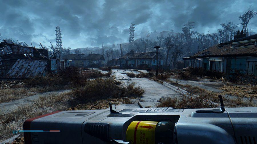 fallout 4 mods lowered gun