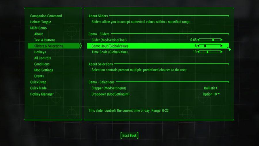 fallout 4 mods mod config