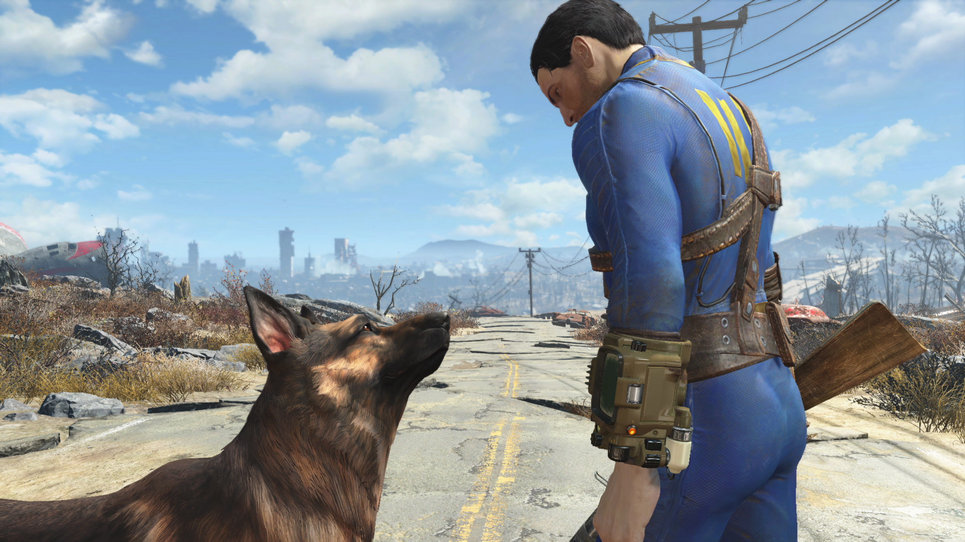 Fallout 4 modders and fans are paying tribute to Dogmeat's inspiration, River