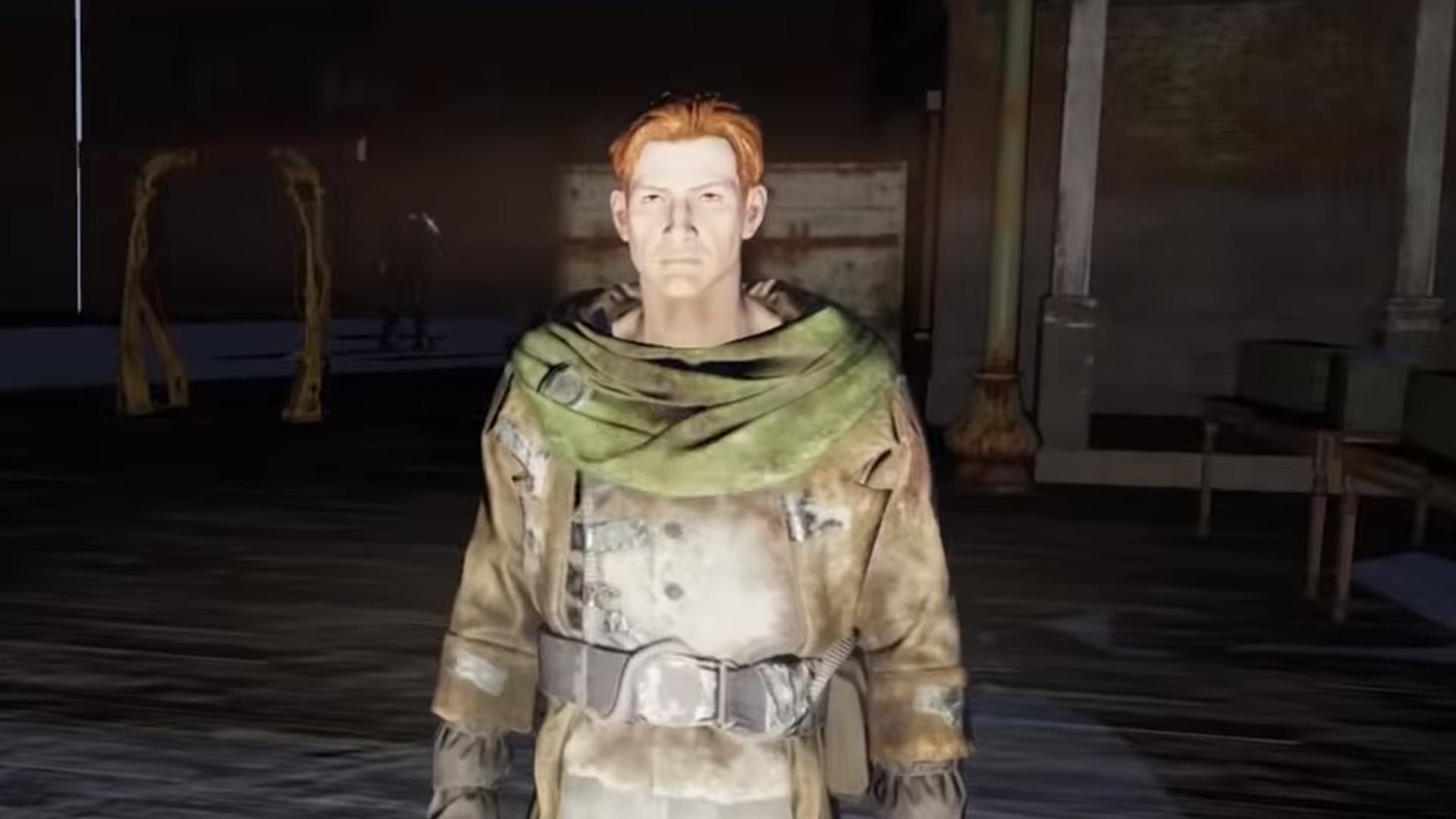 Meet Wooby Fallout 76s only human NPC PCGamesN