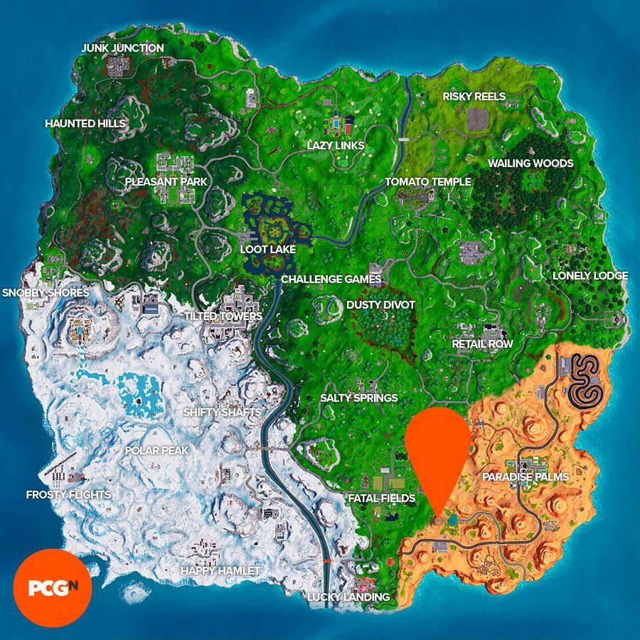 fortnite sundial map