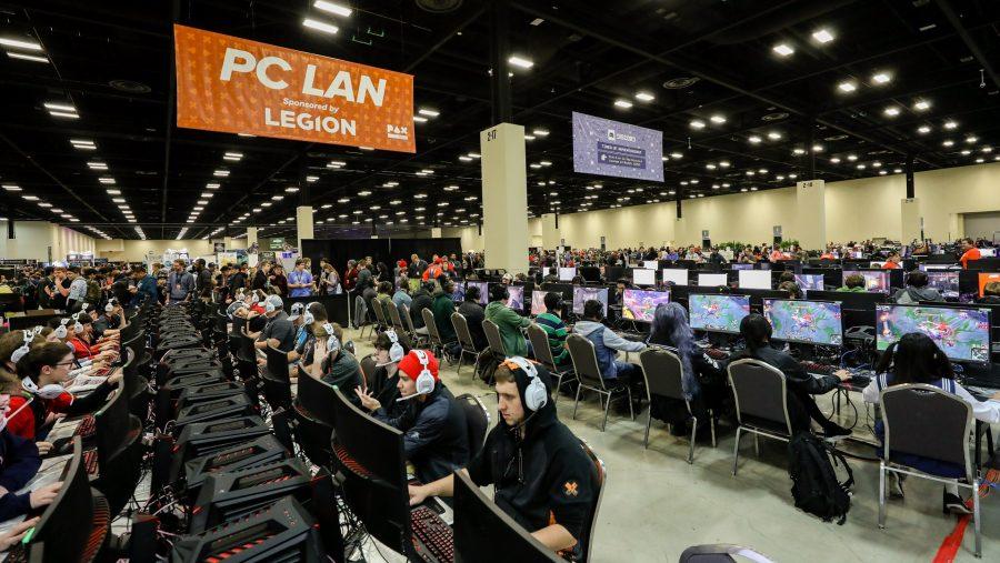 PAX South PC LAN