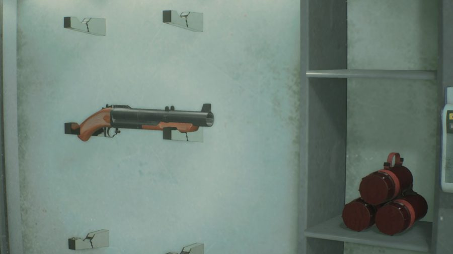 resident evil 2 grenade launcher