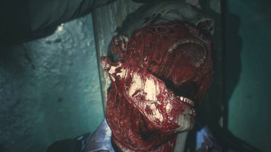 Resident Evil 2 remake gore