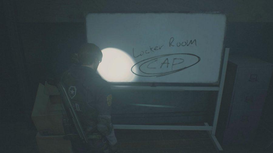 resident evil 2 remake locker codes cap