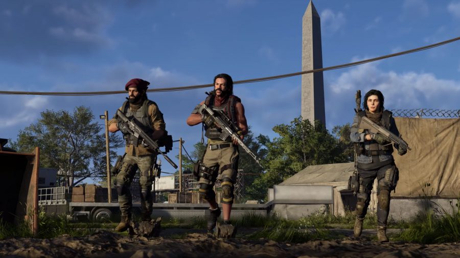 The Division 2 endgame classes