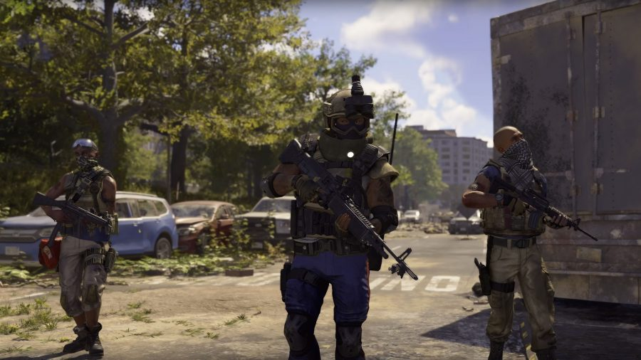 the division 2 true sons faction weapons