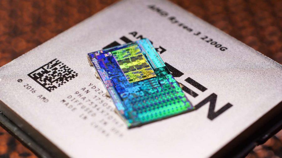 AMD Raven Ridge die shot