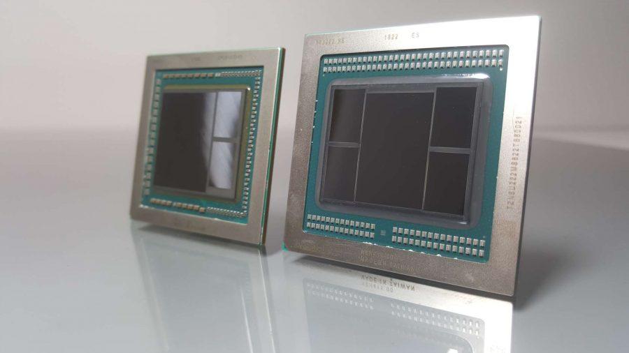 AMD Vega 20 vs Vega 10