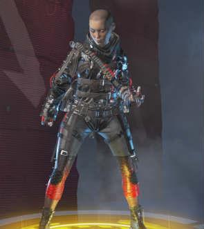 Apex Legends skins wraith vengeance seeker