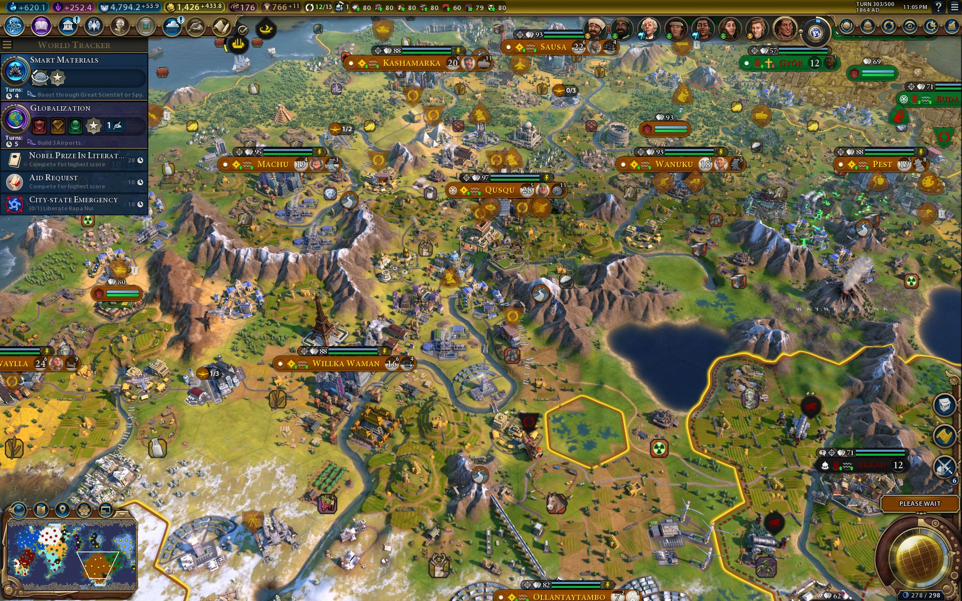 Civilization 6 Inca guide: how to rule the mountains as