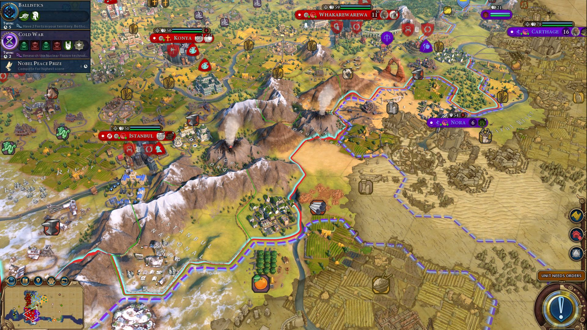 Civilization 6 Maori guide: how to win a 4X without an X | PCGamesN
