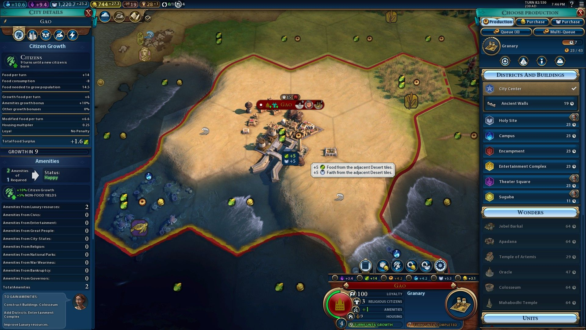 Civilization 6 Mali guide – gold is your god now | PCGamesN