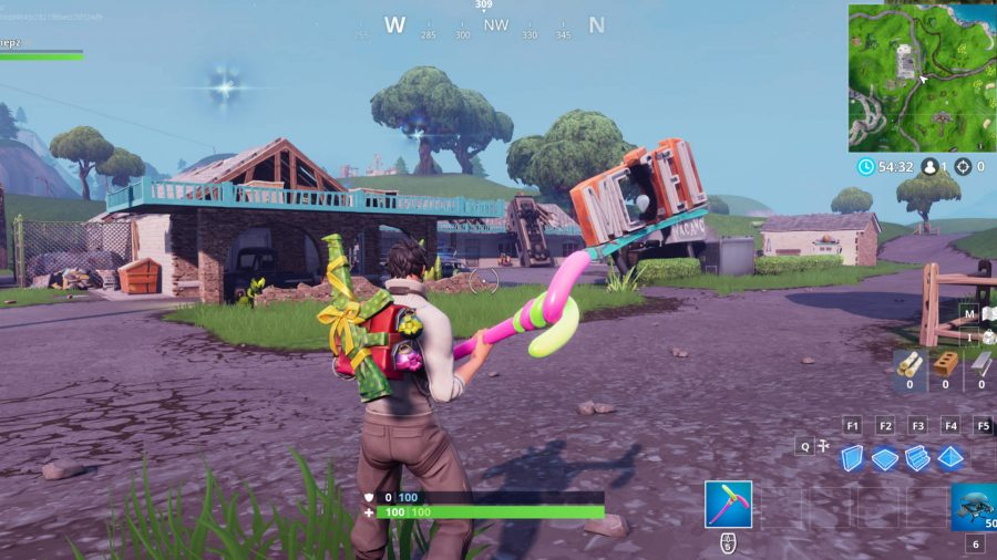 Fortnite motel location overtime challenges