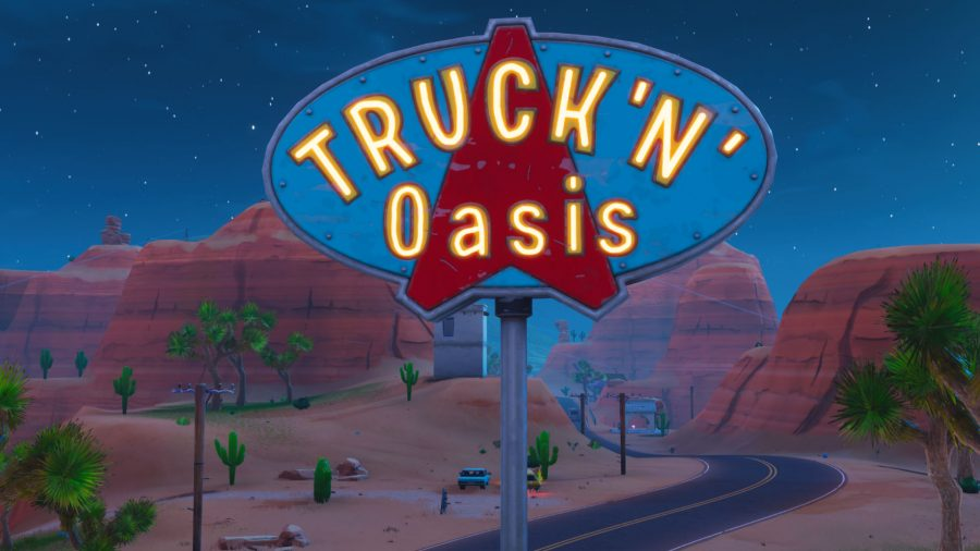 Fortnite truckers oasis location