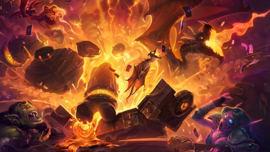 Hearthstone dragons
