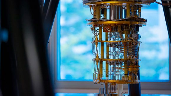 Intel QuTech quantum computer