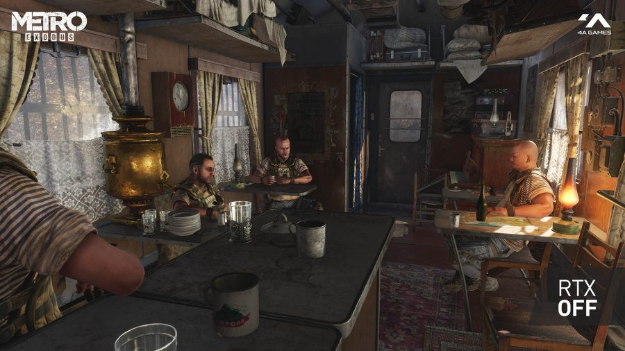 Metro Exodus is shipping with Nvidia DLSS support from day one
