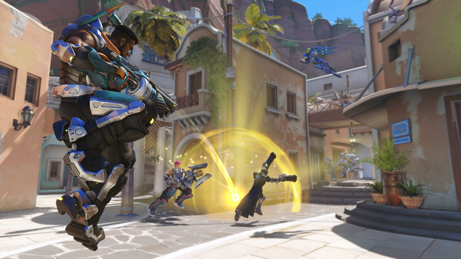 Overwatch adds new hero Baptiste
