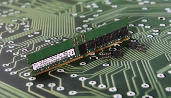 SK Hynix DRAM chip