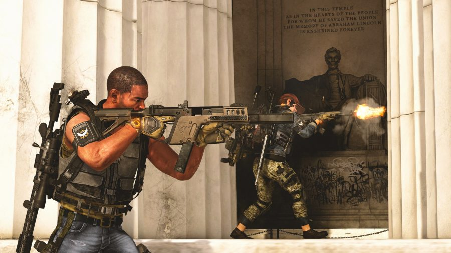 The Division 2 - side shooting