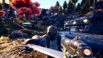 The Outer Worlds release date gunplay