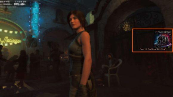 Tomb Raider Asus ad