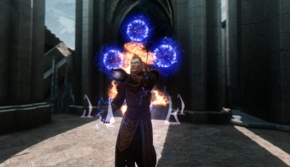 This huge Skyrim mod completely overhauls the magic system