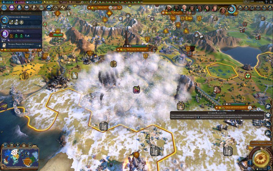 Civilization 6: Gathering Storm PC overview – nice civs