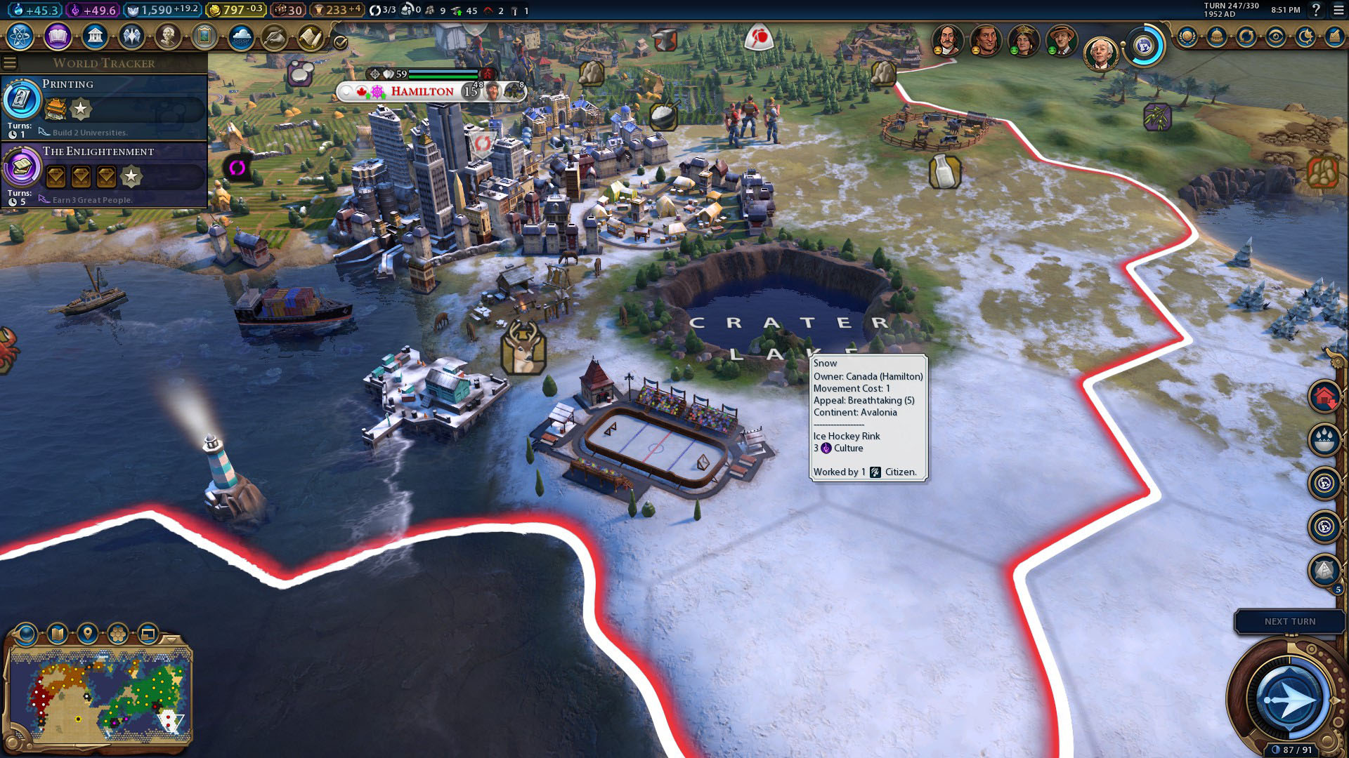 Civilization 6 Canada guide: puck your enemies | PCGamesN