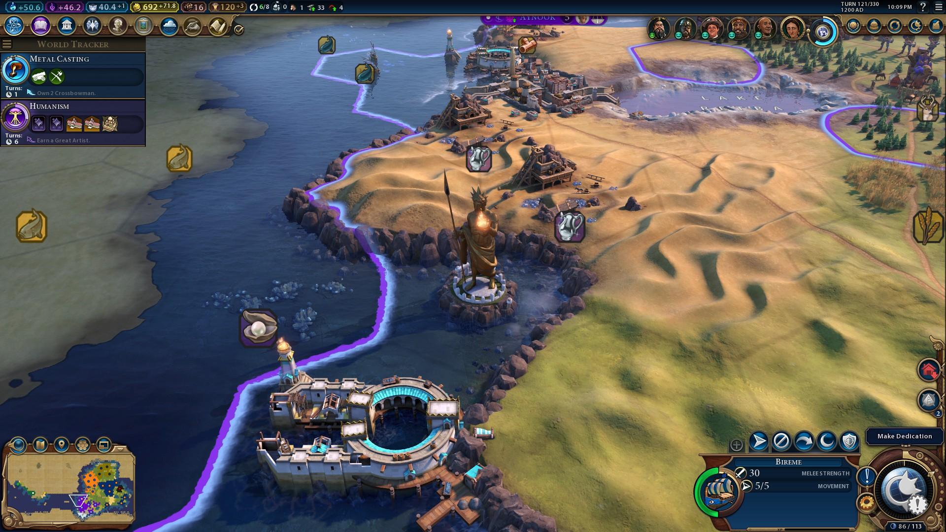 Civilization 6 Phoenicia guide: settling far and wide   PCGamesN