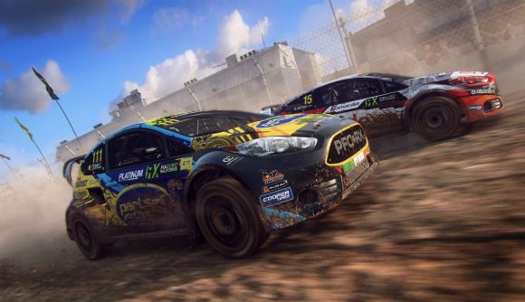 Dirt Rally 2 rallycross Ford