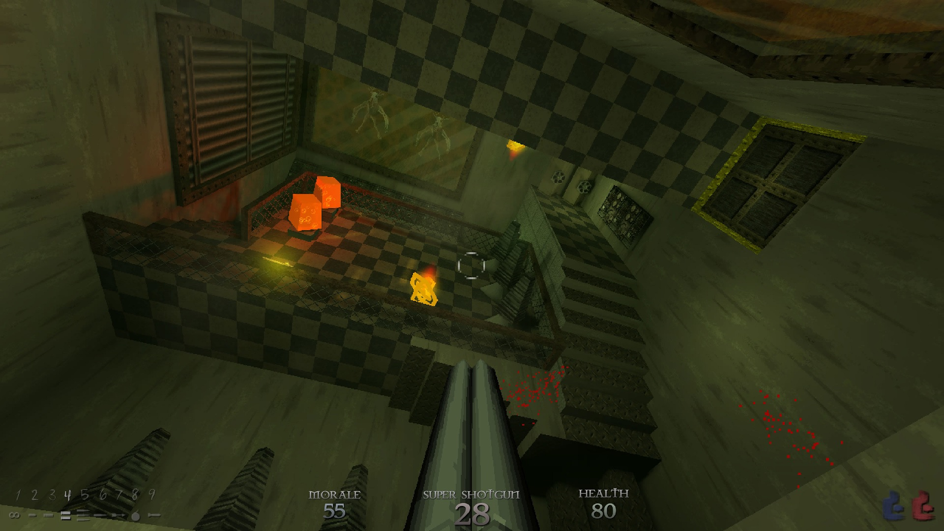 The low-poly architecture of '90s shooters like Quake is back to