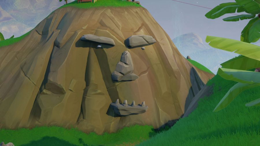 Fortnite jungle giant face location: where to visit a giant